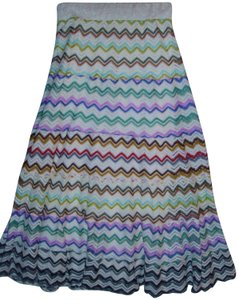 Lapis A-line Wide New Trending Striped Maxi Skirt