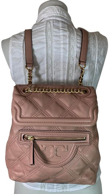 Item - Fleming Mini Soft Pink Moon Leather Backpack