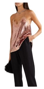 Cami NYC Sequin Cocktailtop Party Top Pink Gold