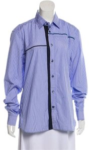 tomas maier Button Down Shirt blue/white