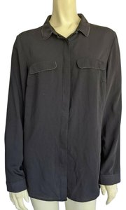 Le Château Button Down Shirt Black