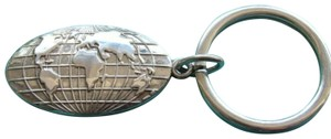 Tiffany & Co. World Atlas Keychain