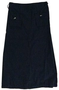 XCVI Skirt Navy Blue