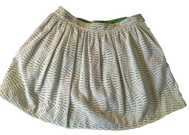 Lilly Pulitzer Skirt White And Kelly green