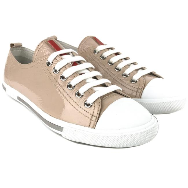 Item - Beige New Patent Leather 37 / Us7 Sneakers Size US 7 Regular (M, B)