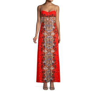 Red Multicolored Maxi Dress by Free People