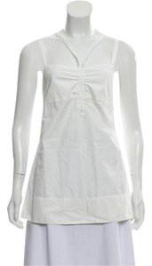 tomas maier Top white