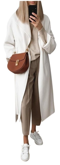 Item - Sand L New Flowy Darted Color 2761/248 Aw19 Pants Size 12 (L, 32, 33)