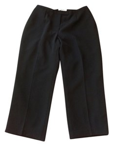 Dress Barn Professional Lined Petite Trouser Pants black