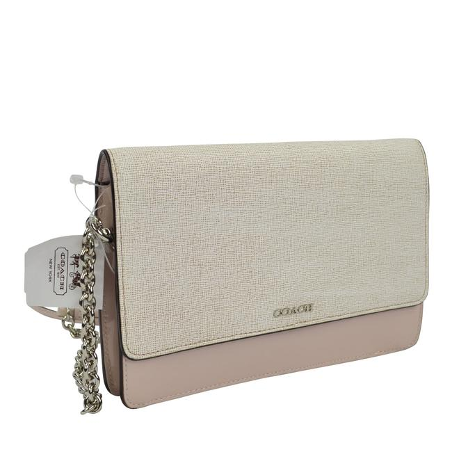 Item - Saffiano Colorblock Multicolor Leather Cross Body Bag