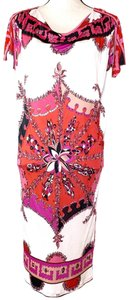 Emilio Pucci short dress Red and Pink on Tradesy