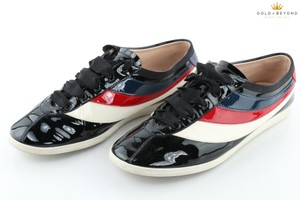 Gucci Multi-color Patent Leather Stripped Size 9.5 (9 Shoes
