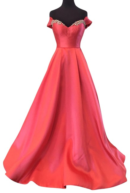 Item - Coral 53399 Long Formal Dress Size 0 (XS)