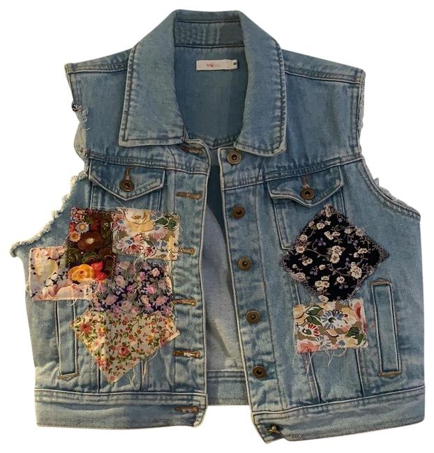 Item - Denim Lf Vest Size 8 (M)