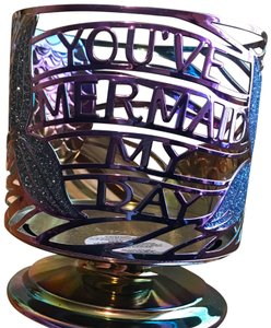 Bath and Body Works Mermaid 3 wick candle holder