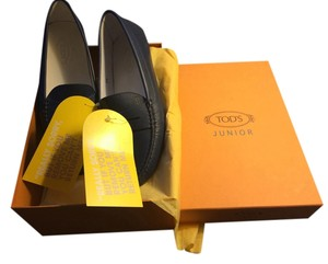 Tods Navy Flats