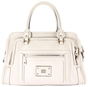 Anya Hindmarch Leather Hand Tote in BEIGE