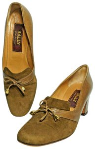 Bally Brown/Tan Pumps