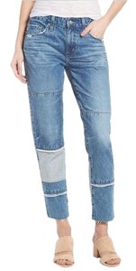 AG Adriano Goldschmied Boyfriend Cut Jeans-Light Wash