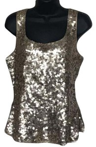 St. John Glam Party Vegas Occasion Top gold
