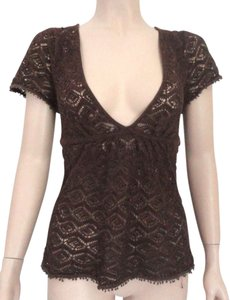Ann Taylor LOFT Top brown