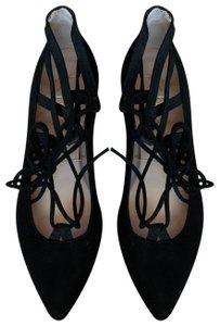 French Sole Black Flats