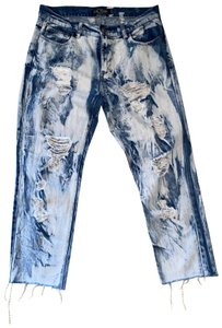 Evil Twin Boyfriend Cut Jeans-Acid