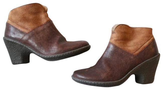 Item - Brown Patchwork Fur Lined Boots/Booties Size US 6 Regular (M, B)