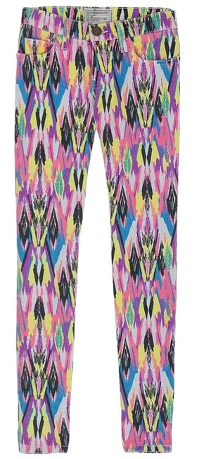 Item - Pink  Low-rise Skinny Jeans Size 25 (2, XS)