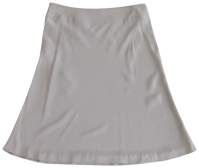 Miu Miu Gray Blue Silk Bias Cut Skirt Size 6 (S, 28) Miu Miu Gray Blue Silk Bias Cut Skirt Size 6 (S, 28) Image 1