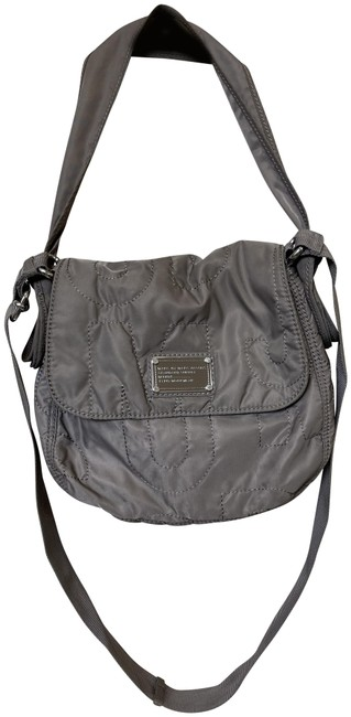 Item - Taupe Nylon Cross Body Bag