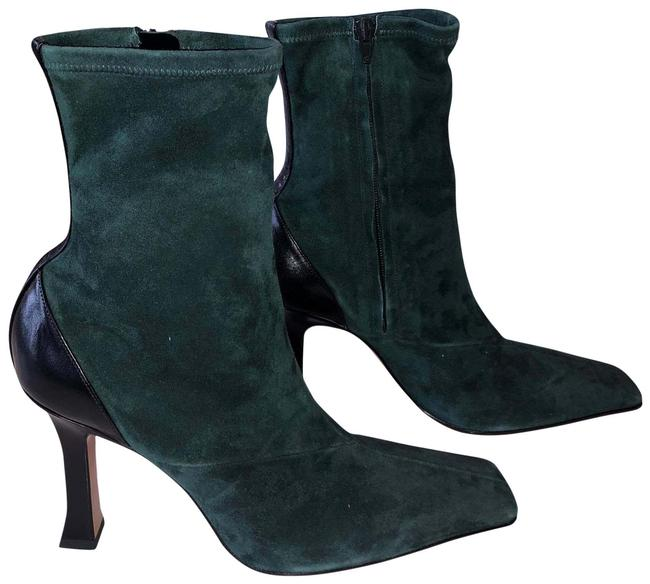 Item - Green and Black Bottle Madame Boots/Booties Boots/Booties Size EU 41 (Approx. US 11) Regular (M, B)