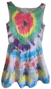 Daniel Cremieux short dress Multi Color Summer Flirty Hippie on Tradesy