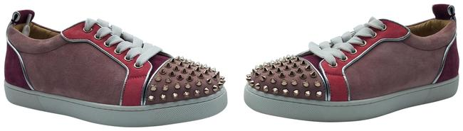 Item - Brown and Red Studded Sneakers Size EU 36 (Approx. US 6) Regular (M, B)