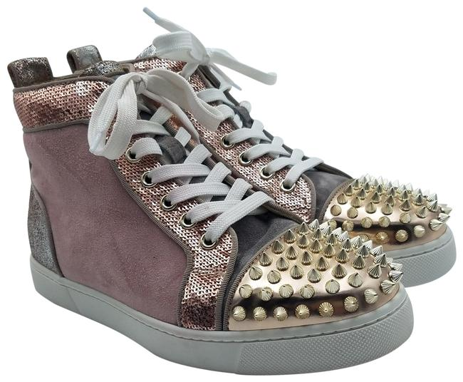 Item - Brown Suede Studded High-top Sneakers Size EU 36 (Approx. US 6) Regular (M, B)