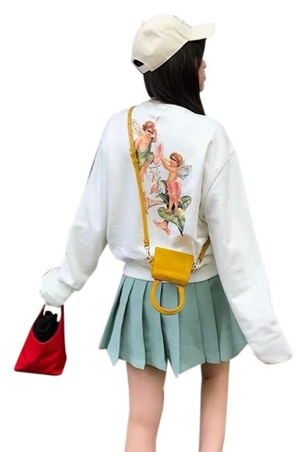 Item - White Angel Sweatshirt/Hoodie Size 6 (S)