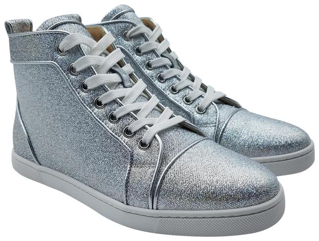 Item - Silver Sparkly High-top Sneakers Size EU 36 (Approx. US 6) Regular (M, B)