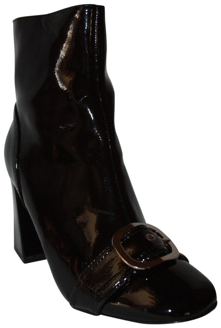 Item - Black When The Sun Dont Shine Buckle Euro Boots/Booties Size EU 39 (Approx. US 9) Regular (M, B)