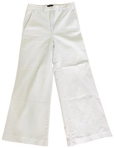 Theory Wide Leg Pants Light Blue