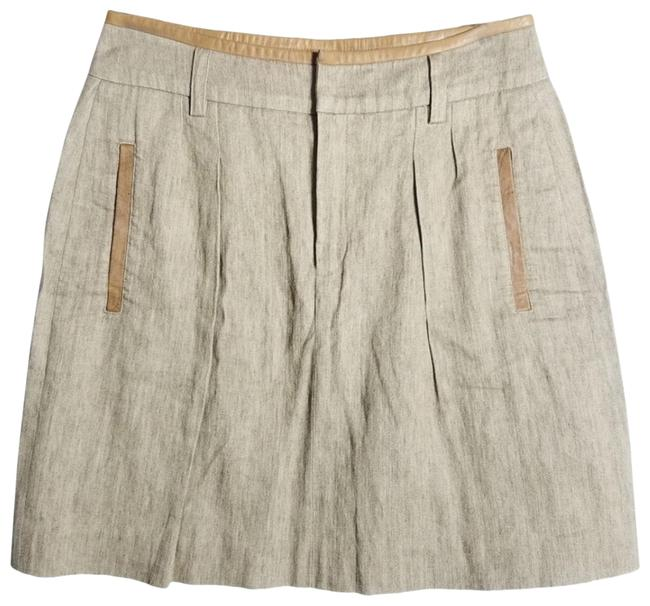 Item - Taupe Skirt Size 6 (S, 28)