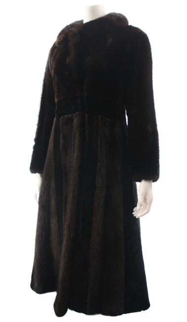 Unbranded Brown Full Length Small Coat Size 4 (S) Unbranded Brown Full Length Small Coat Size 4 (S) Image 2
