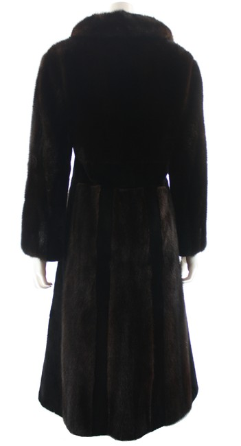 Unbranded Brown Full Length Small Coat Size 4 (S) Unbranded Brown Full Length Small Coat Size 4 (S) Image 3
