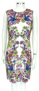 Roberto Cavalli short dress Multi-color on Tradesy
