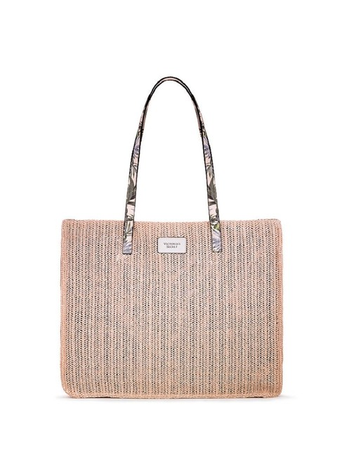 Item - Summer Woven Tan Straw Tote
