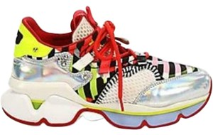 Christian Louboutin Sneakers Low Top Glitter Runner Multicolor Athletic