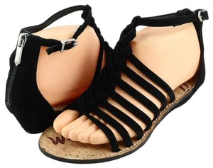 Sam Edelman Designer Comfortable Black Sandals