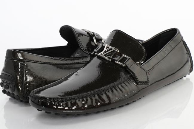 Item - Green Patent Leather Hockenheim Moccasin Loafers Shoes