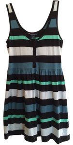 French Connection short dress Black, Blue, Green, Grey on Tradesy