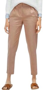 Massimo Dutti Straight Pants Dusty Pink