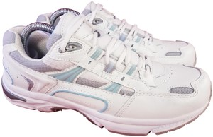 Vionic Walker Woman Size 8.5 Orthaheel white Athletic